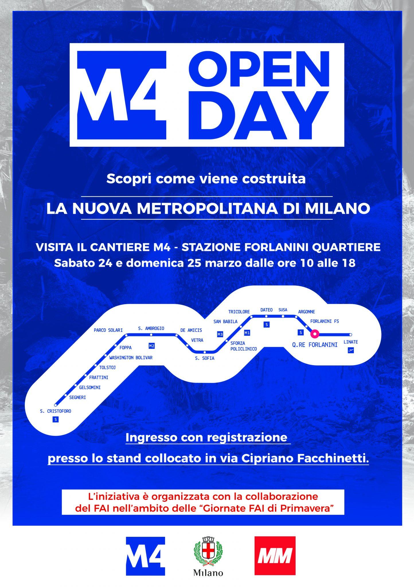 Volantino m4 open day fronte